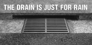 drain just for rain